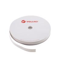 VELCRO® Brand Hook 20mm hvid, PS14 klæb