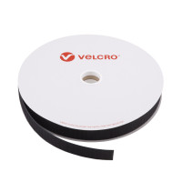VELCRO® Brand Hook 25mm sort