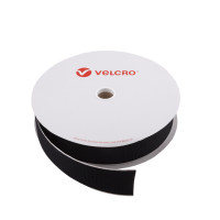 VELCRO® Brand Hook 50mm sort, PS14 klæb