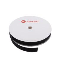 VELCRO® Brand Loop 20mm sort, PS14 klæb