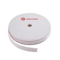 VELCRO® Brand Loop 30mm hvid, PS18 klæb