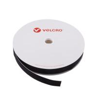 VELCRO® Brand Loop 30mm sort, PS14 klæb