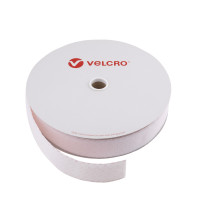 VELCRO® Brand Loop 50mm hvid, PS18 klæb