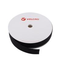 VELCRO® Brand Loop 50mm sort