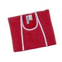 Hagesmæk 30x50 cm Rød, med bindebånd