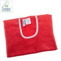 Hagesmæk 30x50 cm Rød, med trykknapper